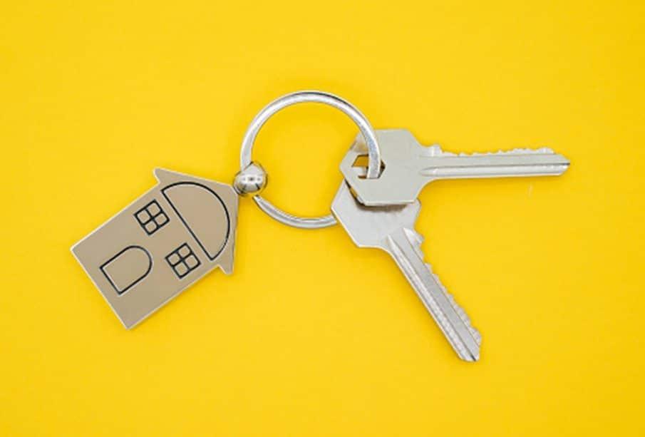 Un porte clé maison