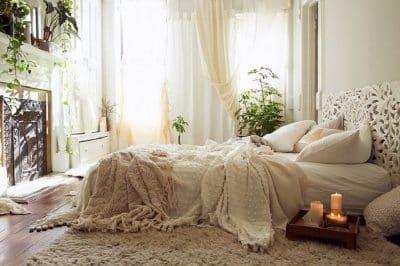 Le style bohème pour une chambre